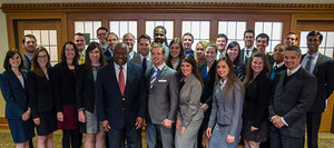 Chief Justice Clarence Thomas Visits Notre Dame Law School