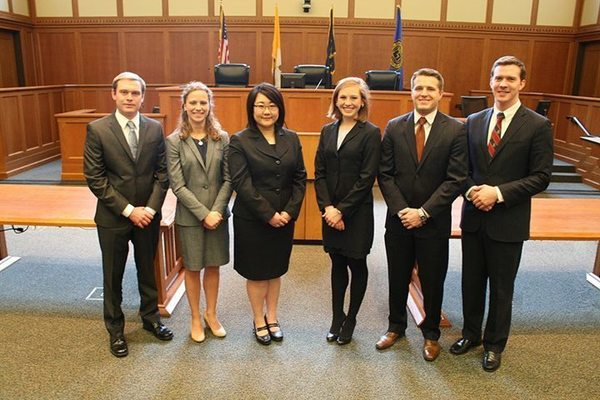 The NDLS National Moot Court team, National Religious Freedom Moot Court Competition in Washington, DC