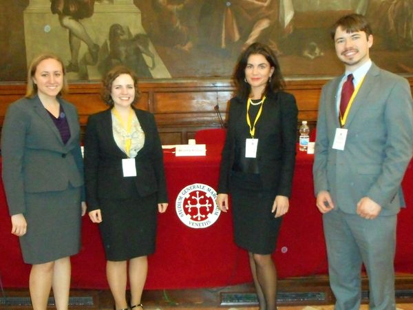 Venice Moot Court, Notre Dame Law School Program on Church, State & Society